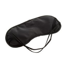 Wholesale Sleep Mask Wholesaler - black sleeping eye mask Travel Aid Eye Mask Sleep Sleeping Shade Cover Nap Light Soft Rest Blindfold