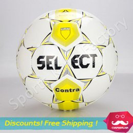 Wholesale Hand Soccer - Pakistan match ball 5th special hand stitched soccer PU material Competition&Training Football