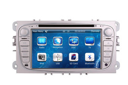 Wholesale Stereo For Ford Mondeo - 2-Din Car DVD Player GPS Navigation for Ford Focus Mondeo S-max with Radio Bluetooth TV USB SD AUX Map Auto Audio Video Stereo