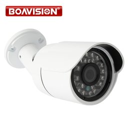 Wholesale Play Security - 2MP 1080P Bullet POE IP Camera Outdoor Night Vision Waterproof 4mm Lens Network Security CCTV Camera IP P2P Cloud Plug & Play