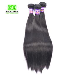 Wholesale Cheap Full Brazilian Weave - Cheap Brazilian Human Hair Virgin Straight Peruvian Malaysian Hair Weave Bundles Soft Full Hair Extensions No Shedding And Tangle Free