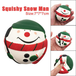 Wholesale Santa Claus For Man - Exquisite Santa Claus Snow Man Scented Squishy Charm Slow Rising Simulation Kids christmas Toys for children Relieve Stress Toy