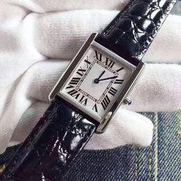 Wholesale Elegant Wrist Watch - Watch Women Elegant Retro Watches Fashion Casual Brand Luxury Women's Quartz Clock Female Leather Lady Ladies Wrist Watches