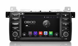 """Wholesale Navigation For Bmw - 1024*600 4-core Android 4.4 HD 1 din 7"""" Car Radio Car DVD for BMW E46 M3 1998-2005 With GPS Navigation 3G WIFI Bluetooth IPOD TV AUX IN"""