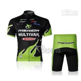 Wholesale Merida Hot - 2016 merida bike bicycle wear hot sale outdoor team jersey cycling topand tight shorts