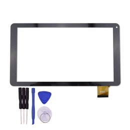 Wholesale Tablet Pc Replacement Screens - Wholesale- New for TZ13 3G 10.1 inch Touch Screen Tablet PC Glass Panel Sensor Digitizer Replacement Free Shipping