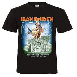 Wholesale Iron Maiden Wholesalers - Wholesale-Iron maiden 3d printed t shirts,summer style brand t-shirt men,2016 men's fashion new style t shirt,100% cotton t shirt men!2016