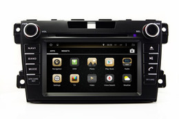 Wholesale Mazda Cx7 Gps - Android 4.4 Car DVD Player for Mazda CX7 CX-7 with GPS Navigation Radio Bluetooth USB SD AUX MP3 WiFi Head Unit