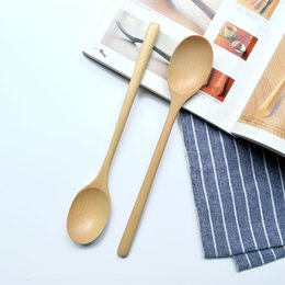 Wholesale Ship Wood Table - New Arrival Korean Cuisine Wooden Spoons, 23.5*4cm Table Spoons Eco-Friendly Kitchen Accessories Free Shipping Wholesale MOQ:20 Piece