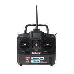 Wholesale Radio Transmitter Receiver For Rc - RadioLink T6EHP-E 2.4G 6CH Radio Control System Transmitter w  R7EH 7CH Receiver for RC Helicopter Model 2 order<$18no track