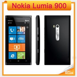 "Wholesale Gps Capacitive - Original Nokia Lumia 900 Unlocked Windows Mobile Phone 4.3"" Capacitive Screen 8.0MP Camera WIFI GPS Bluetooth 3G Cell Phone"