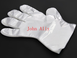 Wholesale Washing Latex Gloves - Transparent Disposable Gloves for home cooking beauty New Disposable Plastic Glove Sanitary Restaurant Home BBQ Cook Kitchen Food
