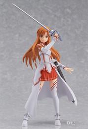 Wholesale Mario Toys Online - Anime Figma 178 Sword Art Online Asuna PVC Action Figure Model Toy 15CM LOOSE V1