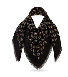 Wholesale pink shawl wrap - MORE MONOGRAM SHAWL M70670 Check Women Wool Cotton Cashmere Silk Scarves Scarf Wrap Shawl Pashmina