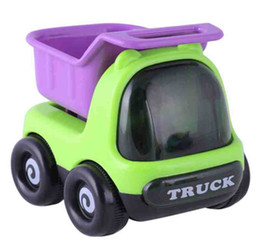 Wholesale Toy Power Trucks - 3pcs KAWO Push and Go Friction Powered Car Toys Mini Truck Sport Car free shipping for the 1-8 years old gifts