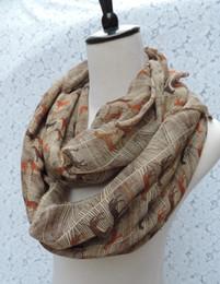 Colores mezclados de las mujeres de los caballos de colores impresos infinito bufanda accesorios Fancy cuello bufanda mantón regalo para ella desde fabricantes