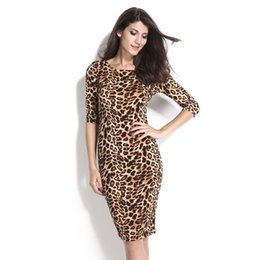 Leopard Halter Dress