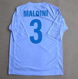 Retro jerseys 2002 World cup Italy Away White Maldini Del Piero Totti Inzaghi  jersey shirt 7d9b48c28