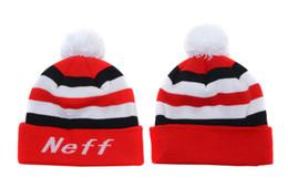 Wholesale Wholesale Skull Flats - Neff Beanies New Arrival Pom Pom Beanies Hip Hop Snapback Hats NEFF Custom Knitted Cap Snapbacks Mix Order Free Ship High Quality