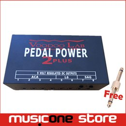 Wholesale Power Supply Lab - Voodoo Lab Guitar Pedal Power Supply 8 Isolaled Outputs With Free Connector MU0583