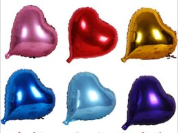 """Wholesale Wedding Violet Ring - Wholesale Hot Sale 20PCS 10"""" Heart-shaped Helium Foil Balloon Holidays & Party Supply Wedding Decoration Supplies Free"""