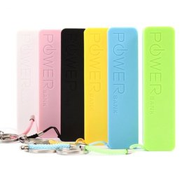 Wholesale Mah External Battery Pack - Power Bank 2600 mAh Colorful 2600mAh Portable Emergency External Cell Phone Perfume Power Bank Battery Charger Pack for iPhone Samsung HTC