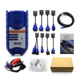 Wholesale Heavy Duty Truck Diagnostic Scanner - Newly Heavy Duty Truck Diagnostic Scanner NEXIQ 125032 USB Link Truck Interface+Software With All Installers With DHL Free
