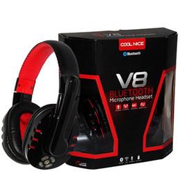 2019 auriculares somic 2015 Auricular Bluetooth Inalámbrico Cinta de cabeza Estéreo Auricular Studio Head Phone con micrófono de manos libres para iPhone 5S Ordenador PC MP3 EAR035