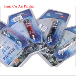 Wholesale Car Air Purifier Ozone - car air purifier bulb Led Powerful Ionizer creates Ozone to Eliminate Bad smell from cigarette pets