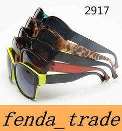 989f0f2a7c 2018 New fashion trend sunglasses for men women 2917 big frame sunglasses  NICE FACE sunglasses retro sun glasses 5 color Quality AAA+ MOQ 10