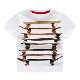 Wholesale Shirt Shorts For Children - Cool China Brand children clothing wholesale Skateboard boys t-shirt cotton short sleeve shirts Summer originality shirts for boy
