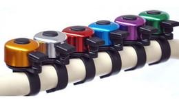 Wholesale Bike Metals - Metal Ring Handlebar Bell Sound for Bike Bicycle bike bell free shipping