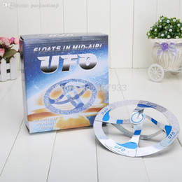 Wholesale Magic Suspended Ufo Air Floating - Wholesale-Mystery Magic UFO Suspended air floating floats in mid-air trick hot educational toys
