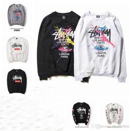 Wholesale Long Coats For Men Sale - Hot Sale Men's O-Neck Long Sleeve Casual Hoodies Fashion Brand Sweatshirts Coat For Men Women Free Shipping
