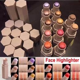 Wholesale Highlighter Face - Fenty Beauty face highlighter Rihanna Pro Filt'r Matte Longwear highlighters stick 12colors shimmer skinstick conceal contour highlight