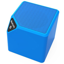 Wholesale Promotional Mini Usb - Tetris Square Wireless Stereo Speakers Fancy Design Portable Wireless Speaker Promotional Price Powerful Bluetooth Speaker