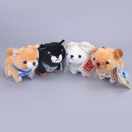 """Wholesale Wholesale Dolls For Sale - Hot Sale 4.5"""" 12cm AMUSE Shiba Brothers Keychains Pendants Plush Doll Stuffed Toy For Child Gifts"""