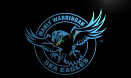 Wholesale Neon Sign Eagles - LD377- Manly Warringah Sea Eagles Neon Light Sign home decor crafts led sign