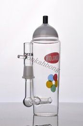 Wholesale New KRYLON Spray Can Paint inline percolator glass bong koklon spary bottle glass water pipe oil rig glass pipe