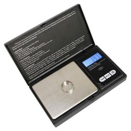 Wholesale Electronic Scales For Kitchen - 0.01 x 200g Mini Precision Digital Scales for Gold Bijoux Sterling Silver Scale Jewelry Balance Weight Electronic Pocket Scales OOA3469