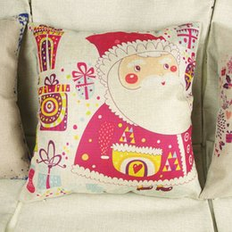 Wholesale Order Sofa Cushions Covers - 1pc Christmas Theme Throw Sofa Pillow Case Decorative Cushion Cover 3 Patterns order<$18 no tracking