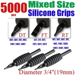 """Wholesale Tattoo Needle Cn - Wholesale-Solong Tattoo 5000 x Disposable Tattoo Grips Tube Assorted Mixed Size for Needle Ink Kit 3 4"""" (19mm) G401-5000-CN"""