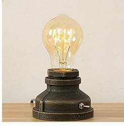 Loft E27 Vintage Industriel En Métal Edison Bureau Lampes Table De Nuit Steampunk Base En Fer Forgé Antique Lampe De Table Lumières Lampes De Nuit pour Nuits ? partir de fabricateur