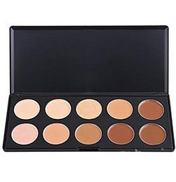 Wholesale Cosmetic Discounts - Big discount Cosmetics 3d radiance camouflage professional 10 colors contour traceless natural finish concealer makeup palette #71457