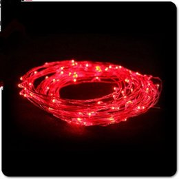 Wholesale Outdoor Wedding Supplies - Christmas Wedding Decoration Lights Copper Wire String Fairy Light AA Battery Romantic Event Party Supplies Waterproof LED Lamp String 001