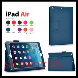 Wholesale Magnetic Flip Smart Cover - For ipad 2017 ipad pro 9.7 10.5 Ipad air mini 2 3 4 5 6 Magnetic Folio Flip Leather Case Stand
