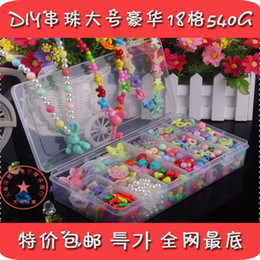 Wholesale Children Day Gift Ideas - Wholesale new children diy handmade beaded amblyopia training colorful educational toys Children's Day gift ideas