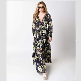 Wholesale Photo Nurses - Nursing Dresses Long Maternity Floral Dress For Photo Shooting Clothes For Pregnant Women Maternity Photography Props
