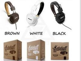 Wholesale Bluetooth Wireless Monitor - Marshall Major headphones Clone With Mic Deep Bass DJ Hi-Fi Headphone HiFi Headset Professional DJ Monitor Headphone