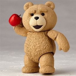 Wholesale Collectible Teddy Bears - Suzannetoyland Anime FUNKO POP Movie Revo Series #006 Ted 2 Teddy Bear PVC Action Figure Collectible Model Gift Hobby Toy 9cm
